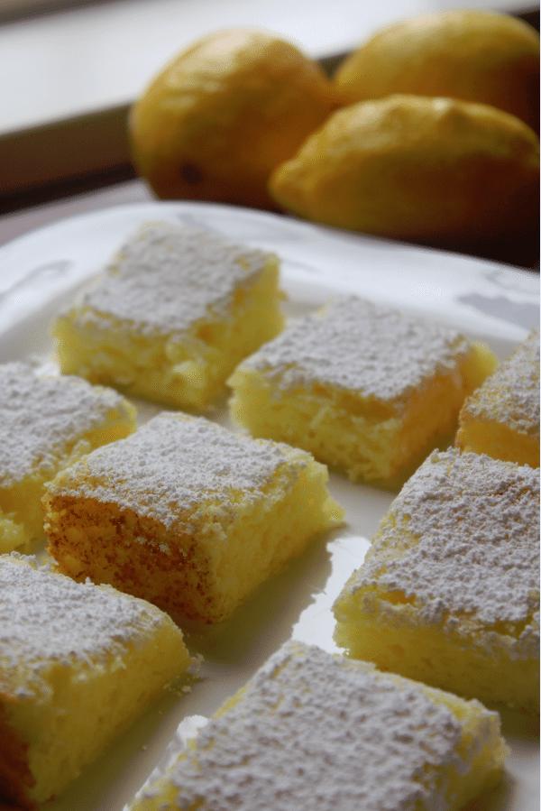 2 ingredient lemon bars Tammilee Tips