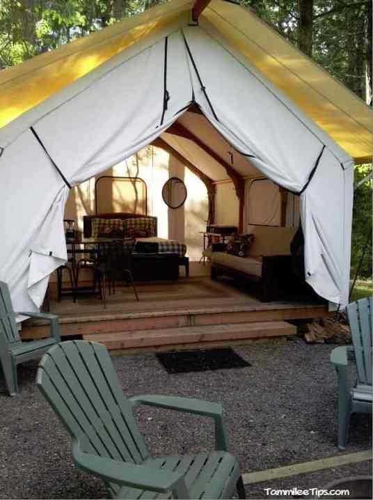 Lakedale Resorts Glamping Tent