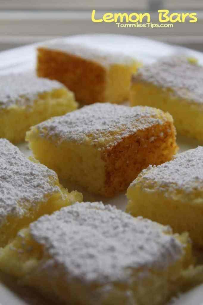 Lemon Bars Tammilee Tips