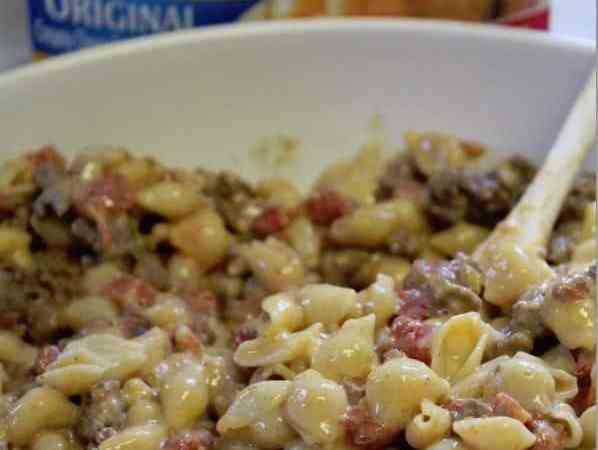 Tex Mex Velveeta Shells and Cheese Recipe