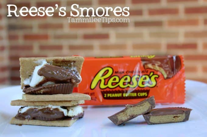 Reeses Peanut Butter Cup Smores