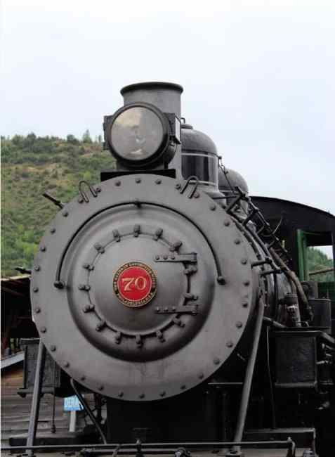 Mount Rainier Scenic Railroad Steam Engine
