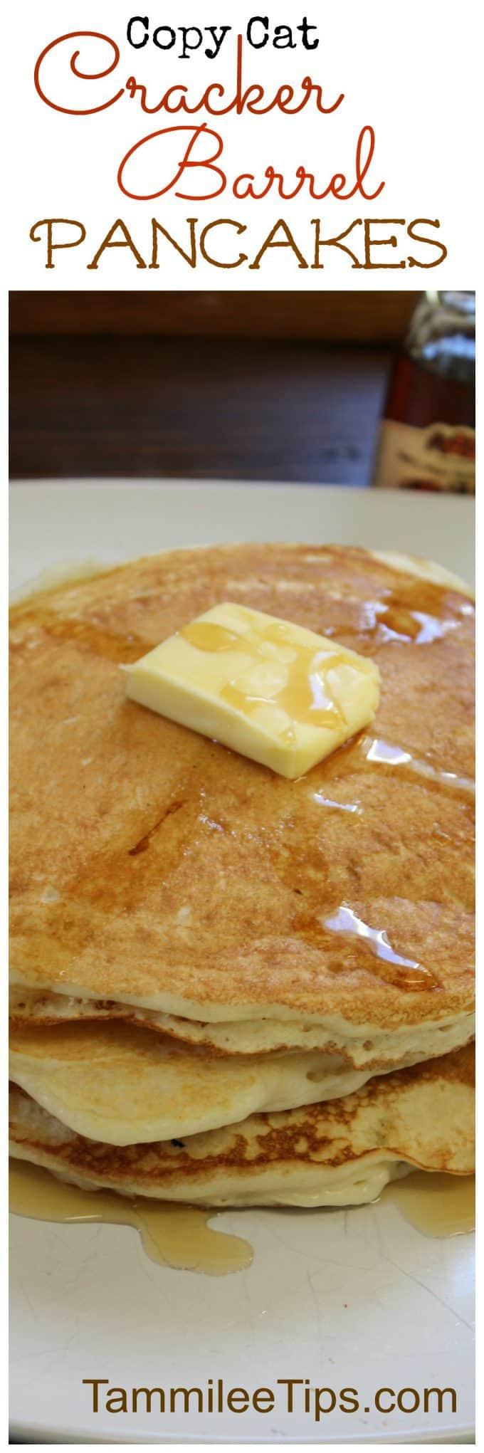 Copy Cat Cracker Barrel Pancakes