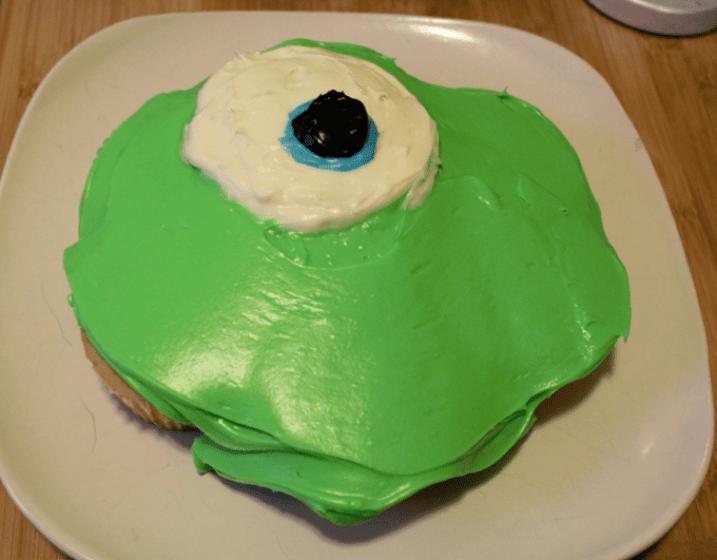 Monsters University Cupcakes Step 3