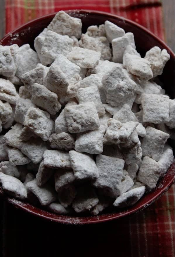 Apple Cider Muddy Buddies Recipe Apple Cider