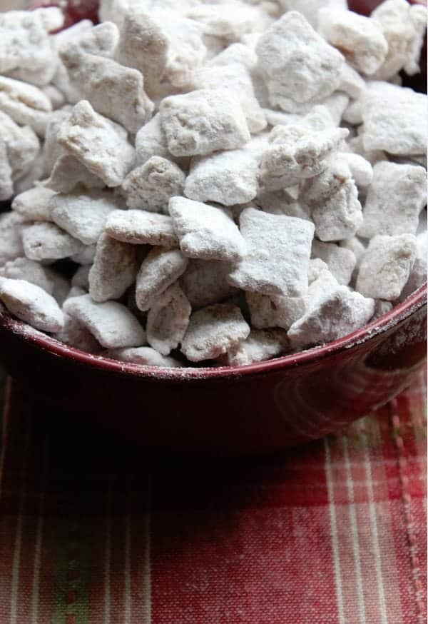 Apple Cider Muddy Buddies Recipe
