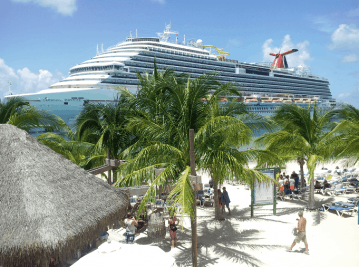 Carnival Breeze docked in Grand Turk