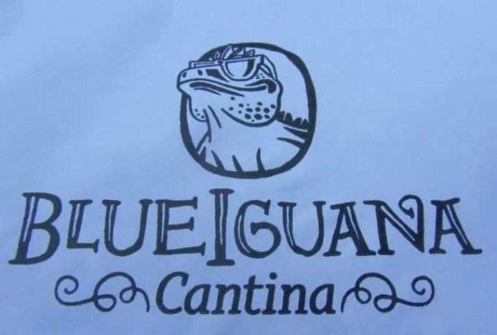 Carnival Breeze Blue Iguana Cantina Logo