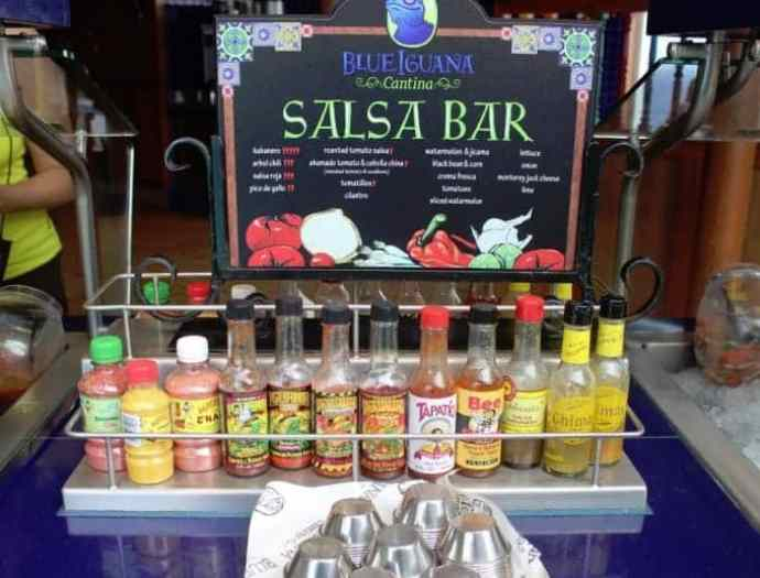 Carnival Breeze Blue Iguana Cantina Salsa Bar 2