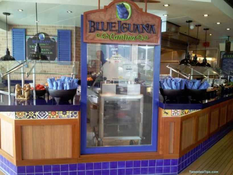Carnival Breeze Blue Iguana Cantina