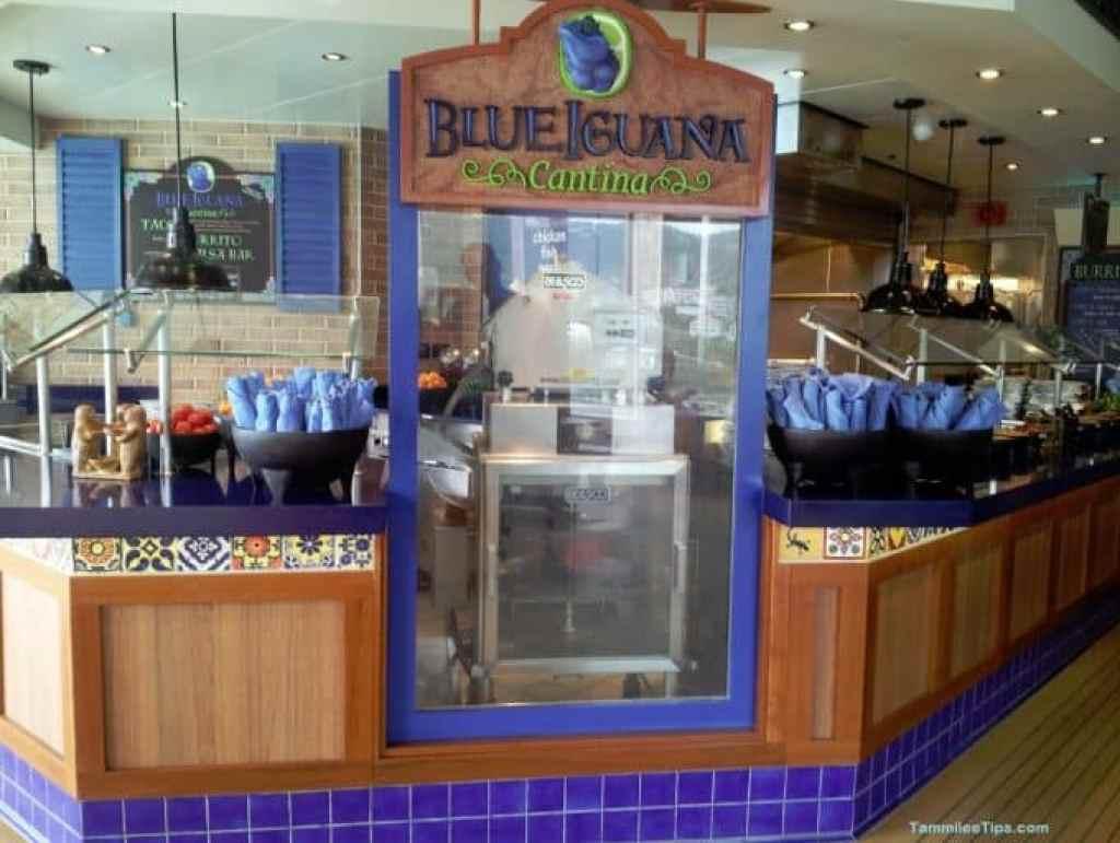 Carnival Breeze Blue Iguana Cantina
