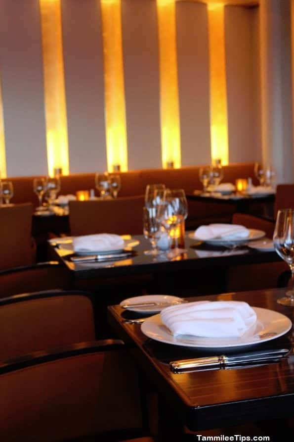 Carnival Breeze Fahrenheit 555 Steakhouse Dining Room