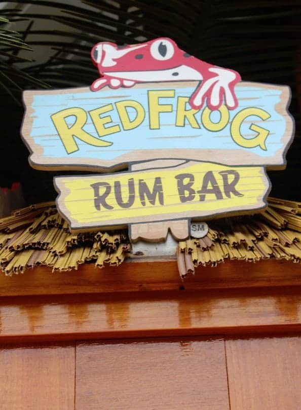 Carnival Breeze Red Frog Rum Bar