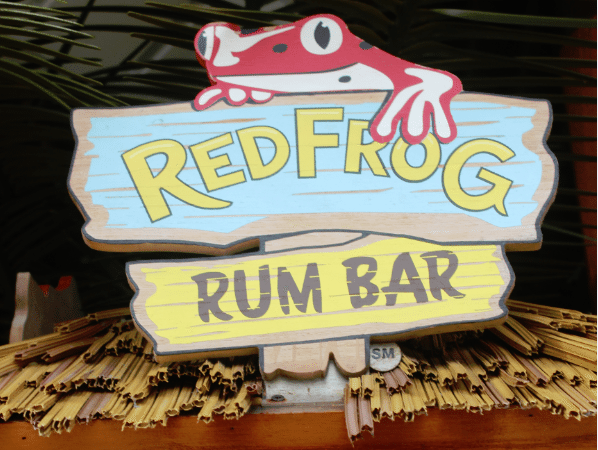 Red Frog Rum Bar on the Carnival Breeze