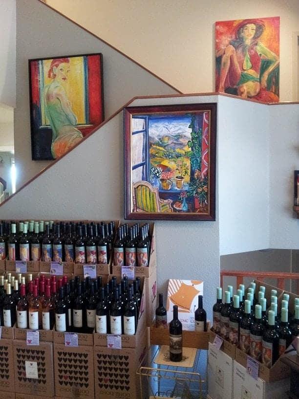Zhoo Zhoo Wine Area