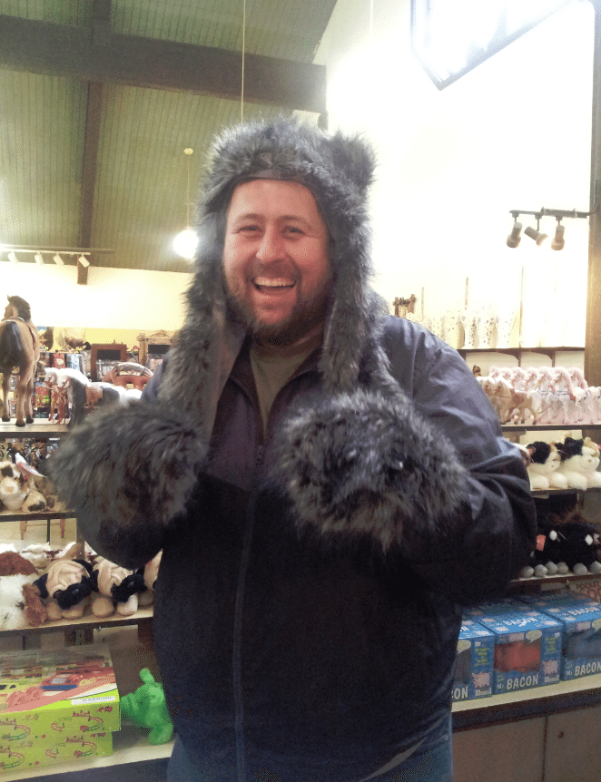 John in Bear suit 2