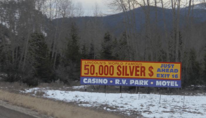 Million Dollar Bar Sign