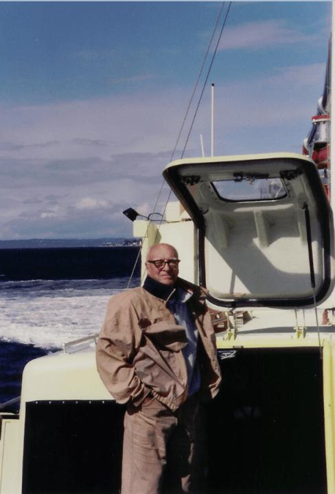 Grandpa Fire Boat
