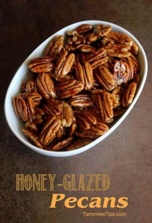 Honey Glazed Pecans Recipe