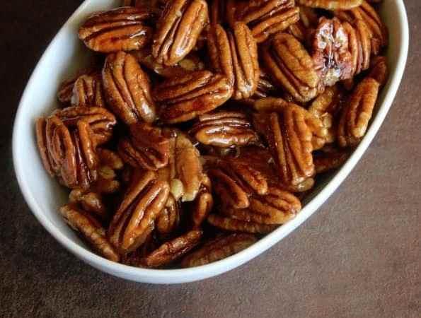 Honey Glazed Pecans Recipe