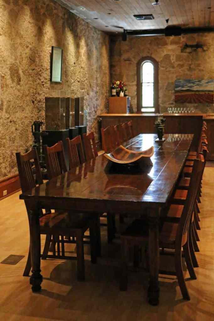Chateau Montelena inside