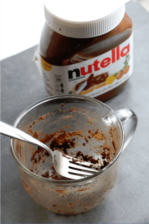Nutella Mug Cake Tammilee Tips