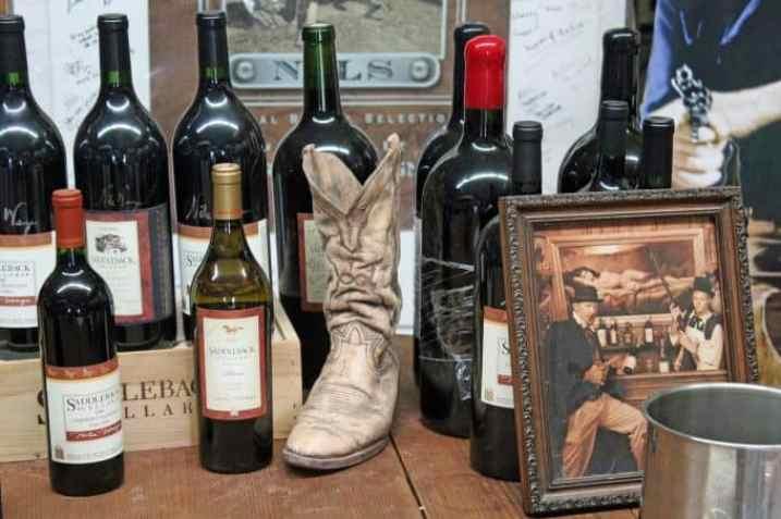 Saddleback Cellars wines