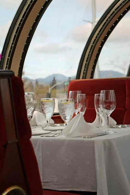 Vista Dome Napa Valley Wine Train