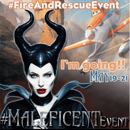 #MaleficentEvent and #FireandRescueEvent in LA!