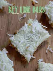 Easy Key Lime Bars