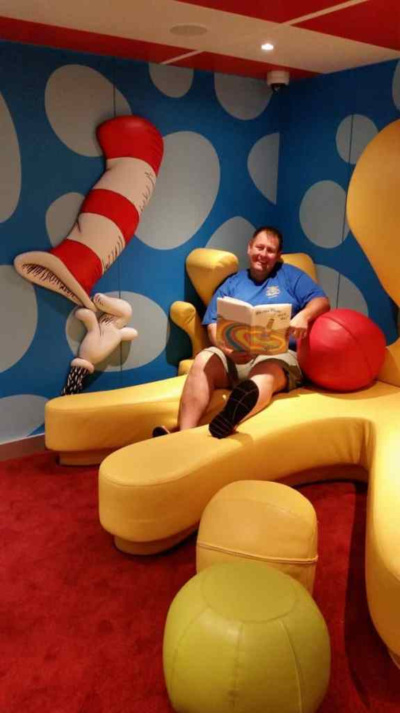 John in Dr. Seuss Bookville