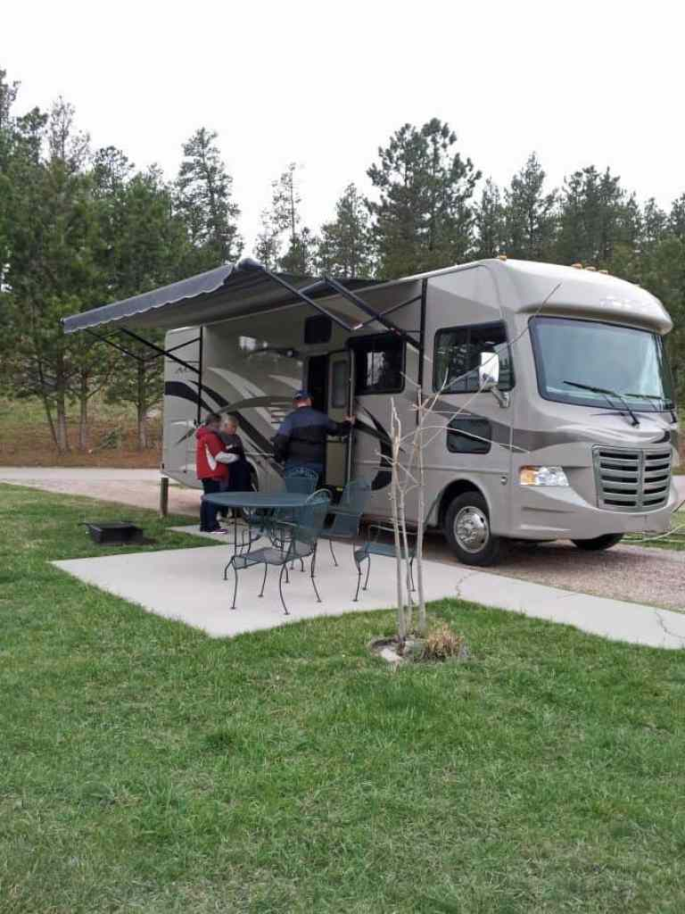 RV set up
