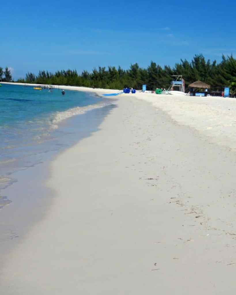 beach at Passion Island