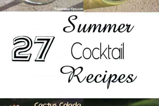 27 Summer Cocktail Recipes!