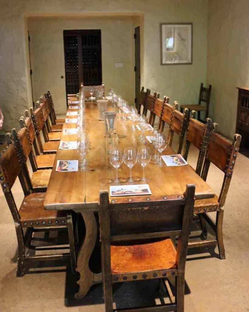 Robert Modavi tasting room