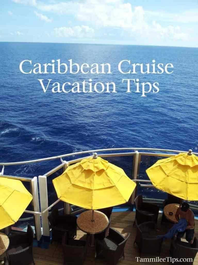 Caribbean Cruise Vacation Tips
