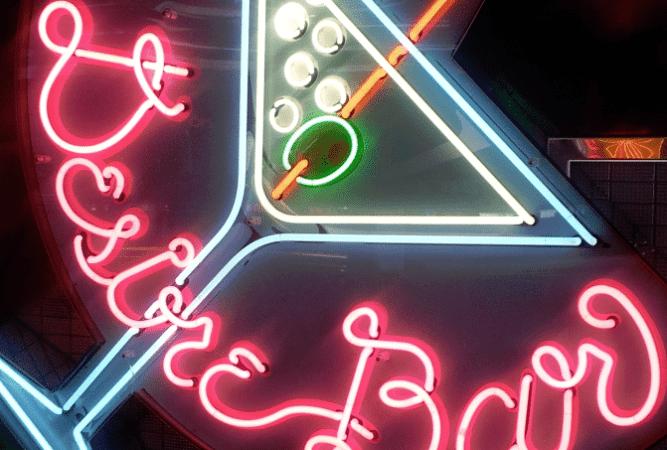 Neon Bar on the Carnival Ecstasy