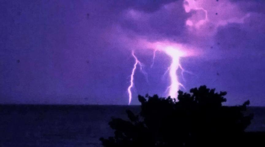 Sanibel lightning sunday night