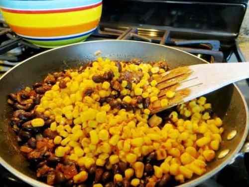 Process 2 Corn & Black Bean Baked Taquitos