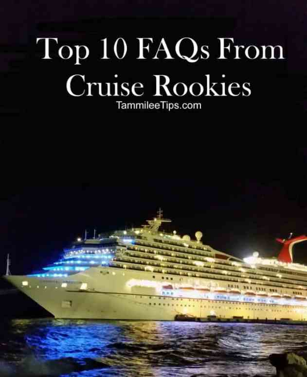 Top 10 FAQ from non cruisers