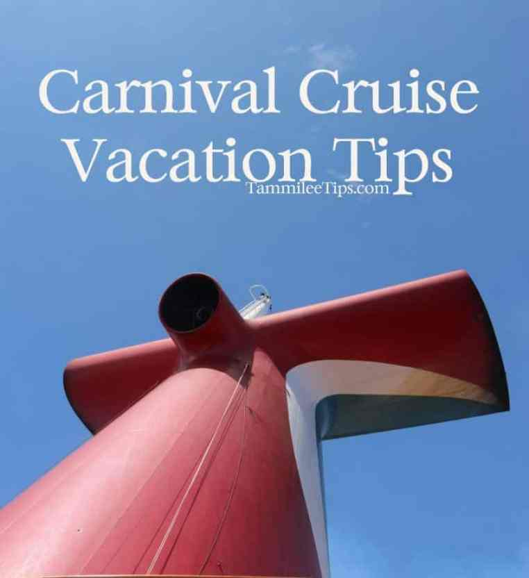 Carnival Cruise Vacation Tips