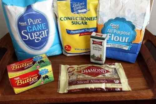 Snowball Cookies Ingredients