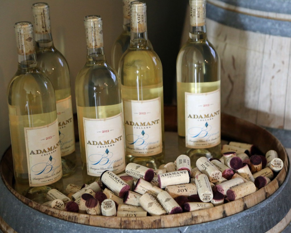 Adamant Cellars wines