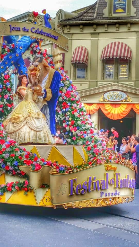Beauty and the Beast Festival of Fantasy Parade
