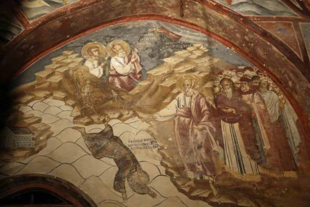 Blog church paintings in Patmos Greece