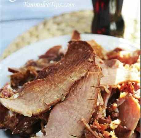 Slow Cooker Crock Pot Cola Ham Recipe