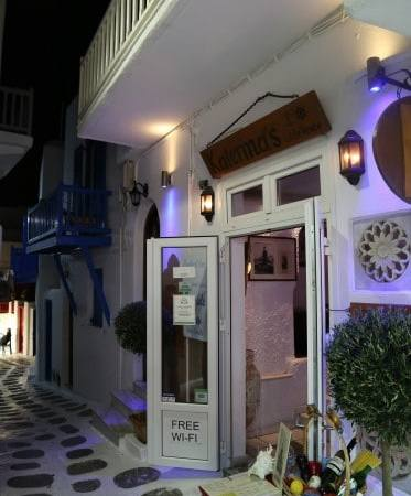 Daily Diary ~ Taste buds rejoice in the best meal of our lives in Mykonos