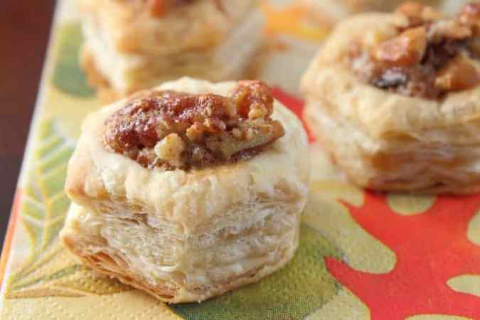 Pecan Pie Puffs Perfect Finger Food Desert