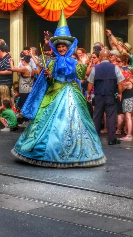 Sleeping Beauty Fairy Disney World Parade