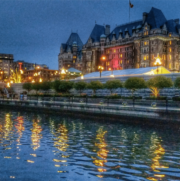 Victoria BC waterfront